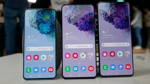 Samsung Galaxy S20, Plus und S20 Ultra im Test: Mehr ist nicht unbedingt besser