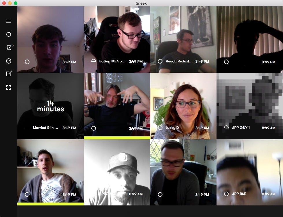 Sneek: Kritik an dauerhaften Webcam-Aufnahmen im Homeoffice