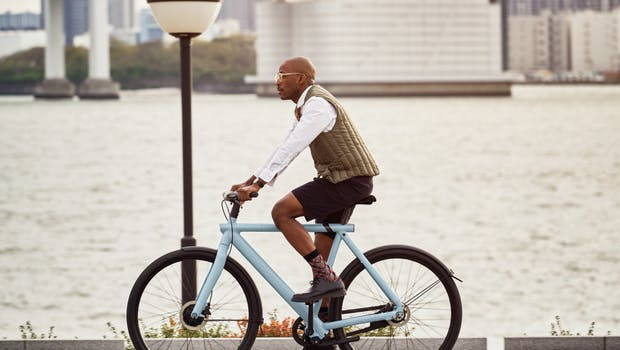 "Vanmoof Electrified S3 in ""Light"". (Foto: Vanmoof)"