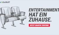 Entertainment hat ein Zuhause – mit UseNeXT