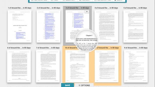 Mit PDFsam Visual führt ihr auch auf Macs PDF-Dokumente zusammen, trennt sie auf und arbeitet mit einzelnen Seiten. Nur den Inhalt selbst könnt ihr damit nicht bearbeiten. (Screenshot: PDFsam)