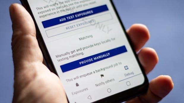 Android-Handys sind bereit für die Corona-Apps
