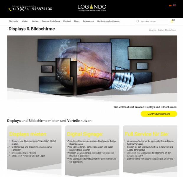Logando Website