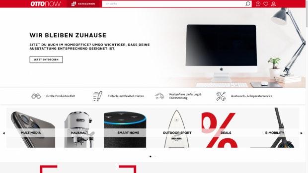 Otto Now online Technik mieten
