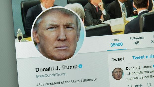 Twitter sperrt Trump-Video wegen Urheberrechtsverletzung