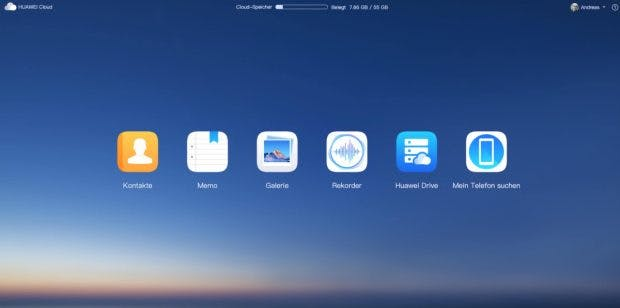 Huawei Cloud am Desktop