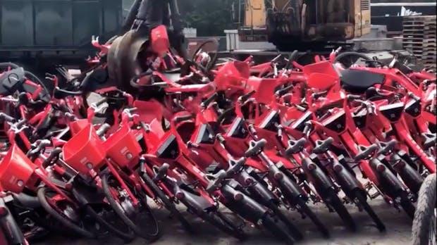 Jump Bikes werden zehntausendfach verschrottet – Tier Mobility will sie retten