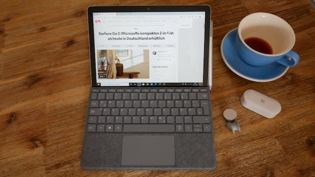 Surface Go 2 im Test: Microsoft zum Budget-Preis