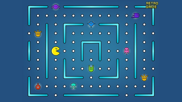Pacman wird 40: Nvidia baut Kultspiel mit KI nach