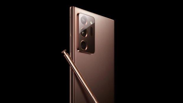 Leak des Samsung Galaxy Note 20 Ultra
