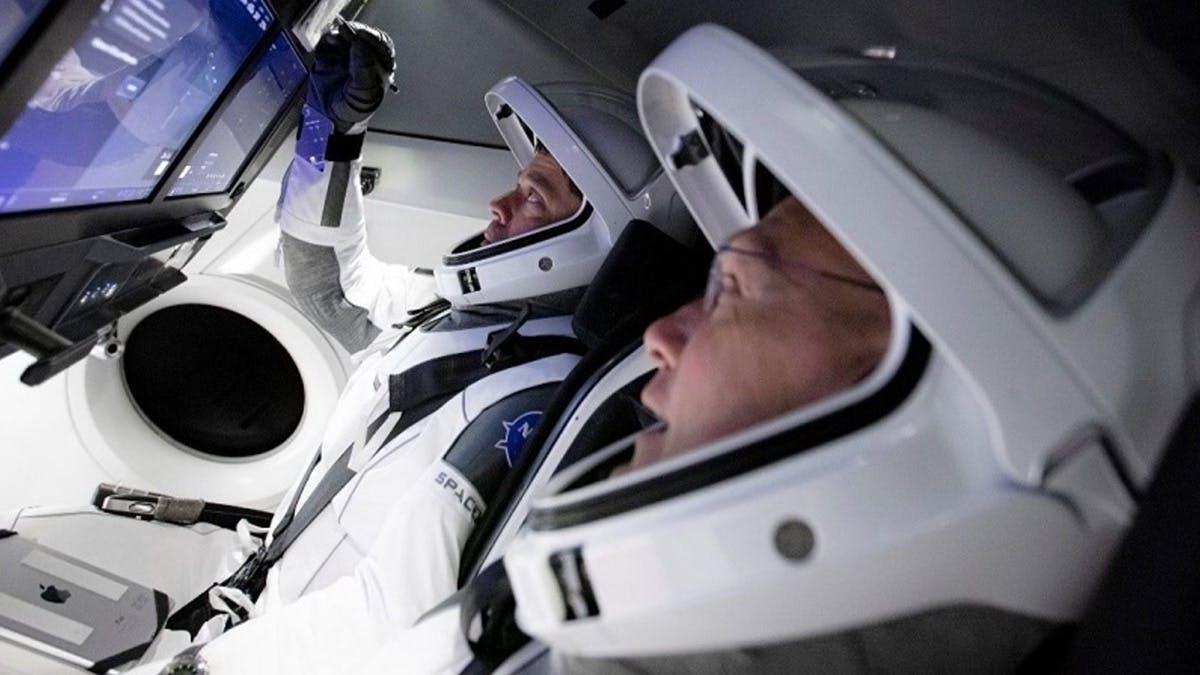 Die erste bemannte SpaceX-Mission: Hier könnt ihr den Start live verfolgen