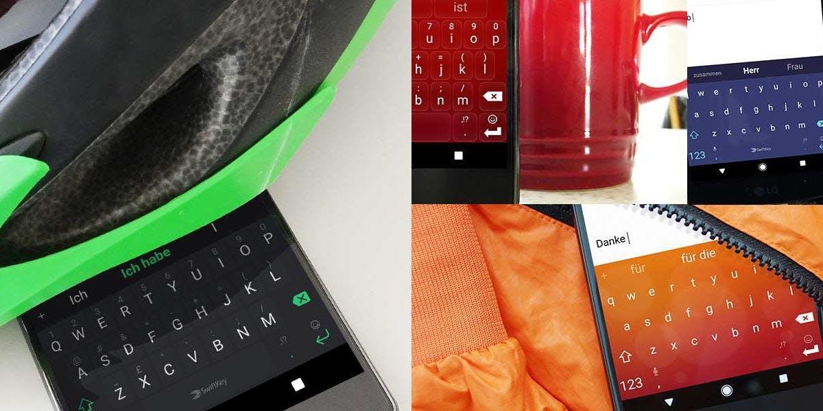 Smartphone-Tastatur: Microsoft integriert Swiftkey-App in die eigene Marke