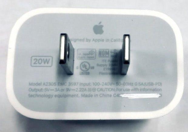 Apple 20 Watt Netzteil