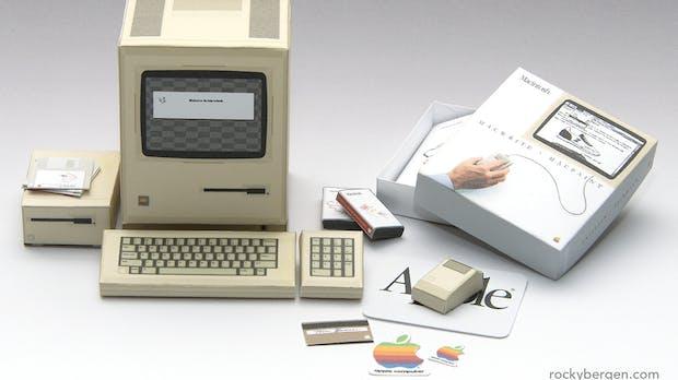 Vom Amiga 500 zum IBM PC: Hier könnt ihr Computerklassiker aus Pappe nachbauen