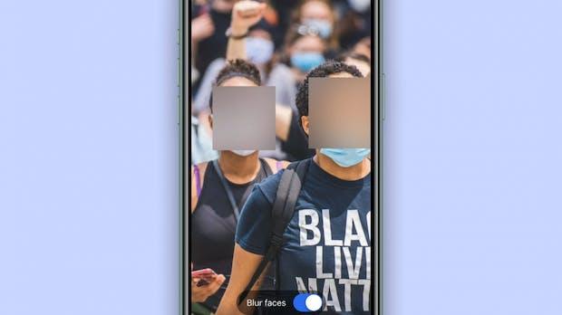 Für mehr Privatsphäre: Signal verpixelt Gesichter auf Fotos