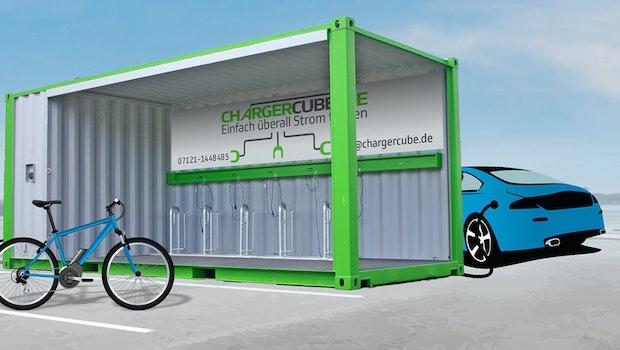 Chargercube: Diese Containerlösung lädt Elektrofahrzeuge aller Art – quasi überall