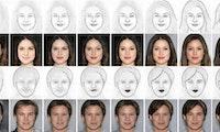 Deep Face Drawing: Wie künstliche Intelligenz aus Strichskizzen Bilder von Gesichtern erzeugt