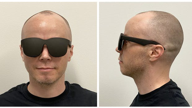 Facebook zeigt Prototyp einer extrem dünnen VR-Brille