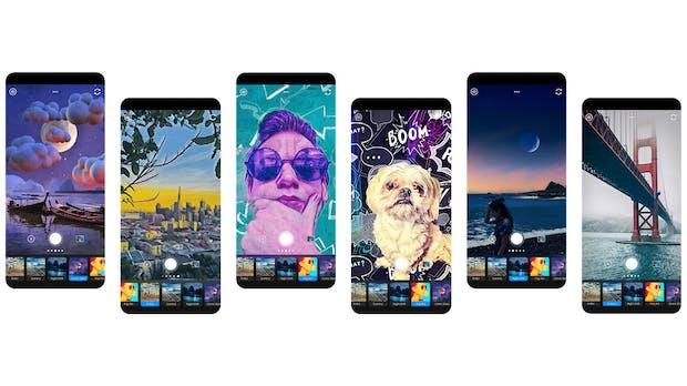 Adobe bringt lange angekündigte Photoshop Camera für iOS und Android in die App-Stores