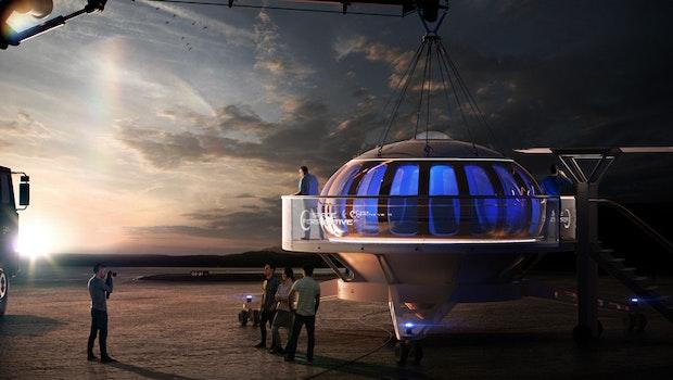 Acht Personen in 32 Kilometern Höhe - das Projekt Neptune. (Bild: Space Perspective)