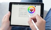 Apple Pencil wird zur Pipette für Farben aus der Umwelt