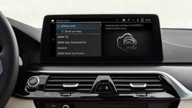 BMW OS 7: Die Kartensoftware mit eDrive-Zone. (Foto: BMW)