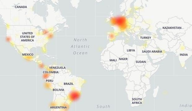 Whatsapp down Deutschland