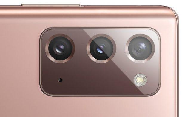 Kameraelement des Samsung Galaxy Note 20
