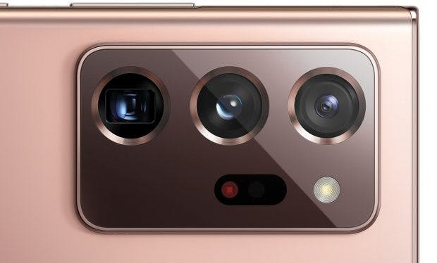 Kameraelement des Samsung Galaxy Note 20 Ultra