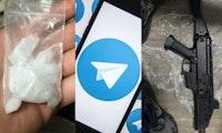 Radikalisierung auf Telegram: Nazis, Waffen, Drogen und Attila Hildmann