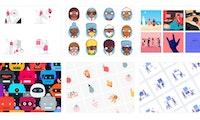 Webdesign: Free Illustrations ist eine zentrale Anlaufstelle für kostenlose Grafiken
