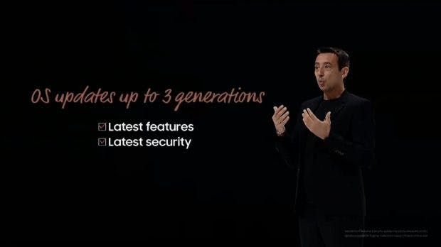 Samsung mit drei Jahren Android-Updates