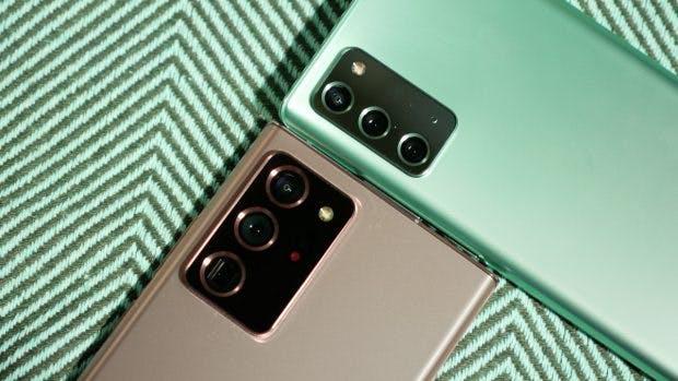 Samsung Galaxy Note 20 Ultra und Note 20