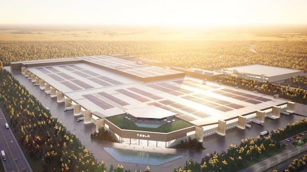 Rechnungen nicht bezahlt: Kurzer Baustopp für Tesla-Fabrik in Grünheide
