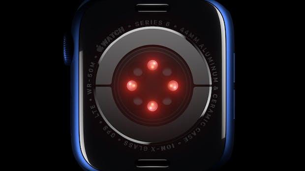 Apple Watch Series 6: Das taugt der Blutsauerstoff-Sensor