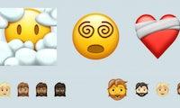Brennendes Herz und Hipster-Bart: Diese Emojis kommen 2021 auf eure Smartphones
