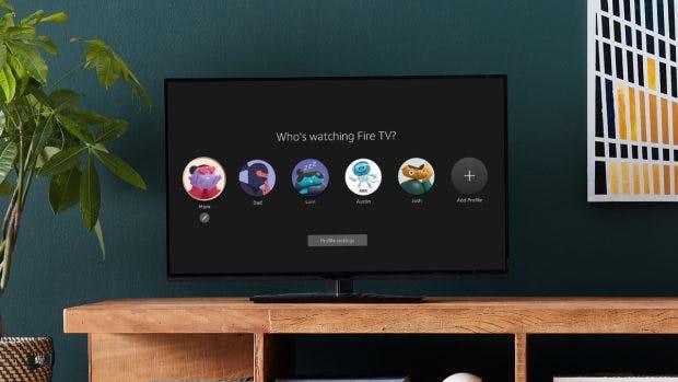 Neue Fire-TV-Oberfläche Profile