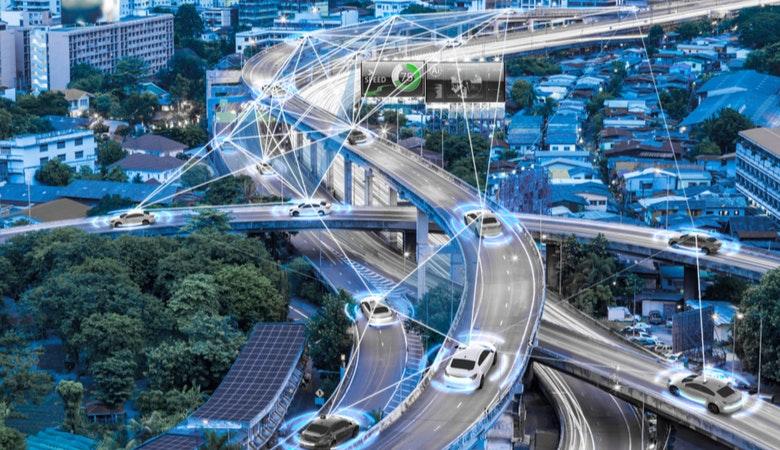 Autonome Autos mit 5G