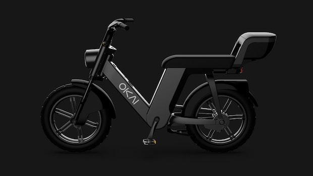 Okai E-Bike EB200 mit Wechselakku. (Bild: Okai)
