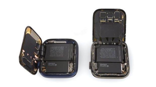 Apple Watch Series 6 zerlegt: Größere Batterie, besser reparierbar