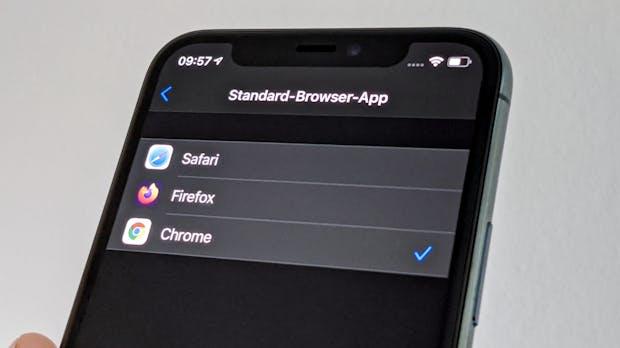 iOS 14: So einfach wechselt ihr Standard-Browser und -Mail-App auf dem iPhone