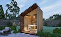 Zen Work Pod: Dieses Homeoffice kannst du dir in den Garten stellen
