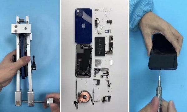 iPhone 12 zerlegt: Akku deutlich kleiner als im Vorgängermodell