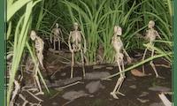 Spooky Skeletons: Dieser 3D-Designer erweckt Knochengerüste zum Leben