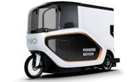 Ono: Transport-Pedelec kann bis zu 220 Kilogramm Ladung aufnehmen