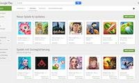 Play Store: Google vergleicht Apps in neuer Übersicht