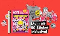 Sichere dir alle ikonischen t3n Stickersheets – mit deinem neuen t3n Abo!
