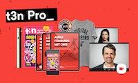 Digitale Ausgabe, Guide-Flatrate, Video-Talks: Das ist t3n Pro!