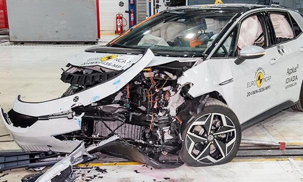VW ID 3 im Crashtest: 5 Sterne für Model-3-Herausforderer