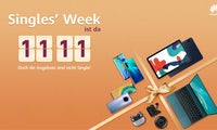 (Not only) all the single ladies: Beim Singles'Day gibt's Huawei-Schnäppchen für alle